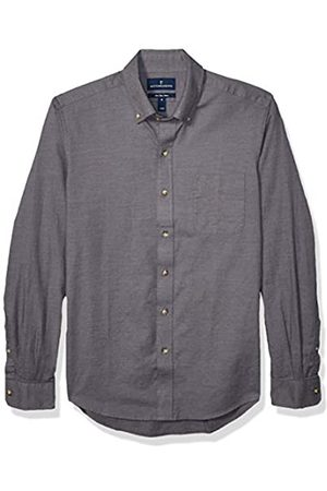 Buttoned Down Slim Fit Supima Cotton Brushed Twill Plaid Sport Shirt Button-Down-Shirts