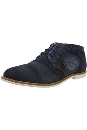 Bugatti 3.13111E+11, Zapatos de Cordones Derby para Hombre, (Blau (Dark Blue 4140)