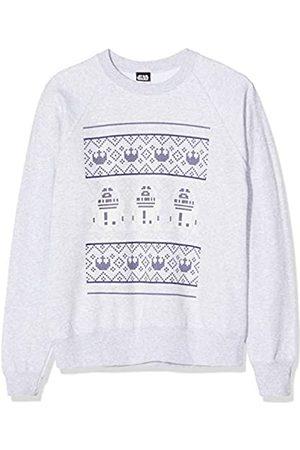 STAR WARS Men's R2d2 Knit Christmas Sweatshirt Sudadera