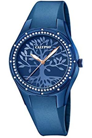 Calypso Reloj Analógico para Mujer de Cuarzo con Correa en Silicona K5721/F