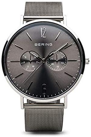 Bering RelojAnalógicoparaHombredeCuarzoconCorreaenAceroInoxidable14240-308