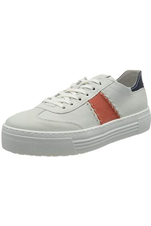 Camel Active Innocence, Zapatillas para Mujer, (White/Coral/Jeans 01)