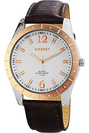 Akzent SS7731000023 - Reloj de Pulsera Hombre, Varios Materiales