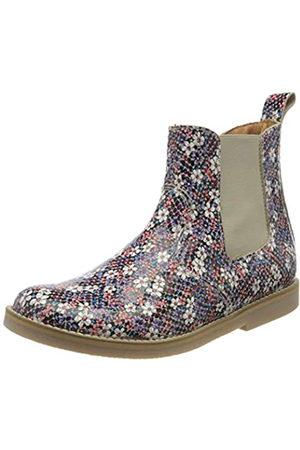 Froddo G3160117 Girls Boot, Botas Chelsea para Niñas, (Flowers I75)