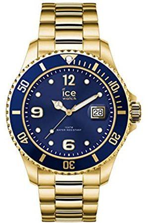 Ice-Watch ICE steel Gold azule - Reloj oro para Hombre con Correa de metal