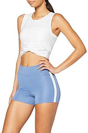 AURIQUE Marca Amazon - Shorts de Deporte con Banda Lateral Mujer, 36