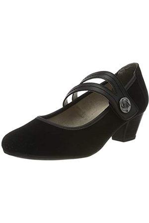 Jana 100% comfort 8-8-24331-24, Mocasines para Mujer, (Black 001)