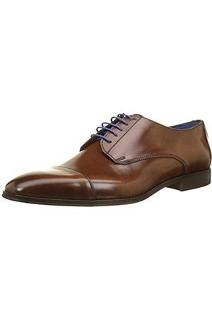 Azzaro Remake, Zapatos de Cordones Derby para Hombre, (Cognac 47)