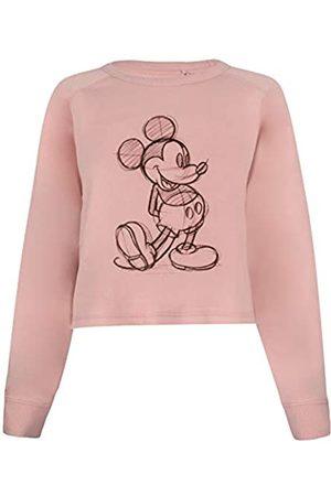 Disney Mickey Sketch Cropped Crew Suéter pulóver