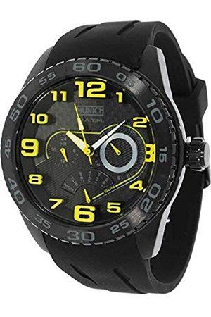Munich Reloj Analógico para Unisex Adultos de Cuarzo con Correa en Caucho MU+136.1C