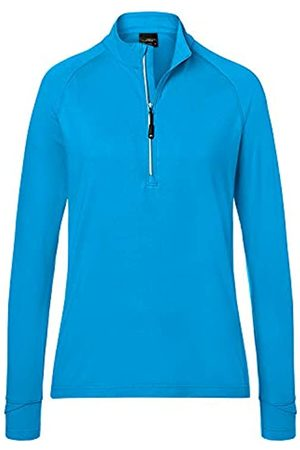 James & Nicholson Ladies' Sports Shirt Half-Zip Camisa Manga Larga