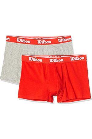 Wilson Calzoncillos Cotton Stretch, Bóxers para Hombre (Pack de 2)