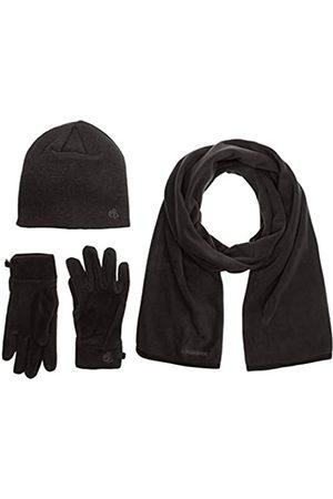 Craghoppers Kiwi – Camisa para Hombre Essential II – Sombrero/Bufanda/Guantes Set Polar Black Pepper