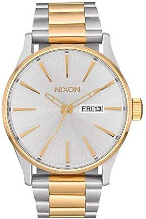 Nixon Reloj para de Cuarzo analógico con Correa en Acero Inoxidable A356-1921-00