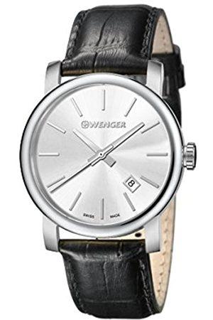 Wenger Reloj Analógico para Hombre de Cuarzo con Correa en Cuero 01-1041-122