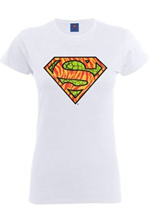 DC Official Superman Wild Logo Womens T-Shirt