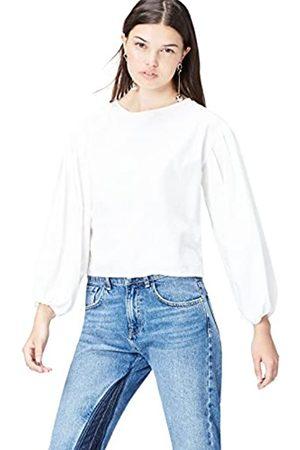 Camiseta de Manga Larga y Cuello Redondo Mujer find Marca