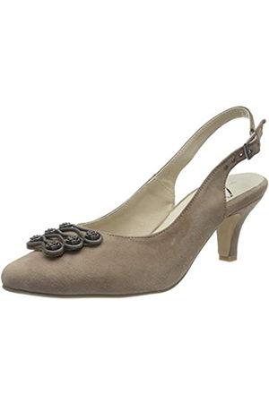 Hirschkogel by Andrea Conti 3007802, Zapatos de Talón Abierto para Mujer, (Taupe 066)