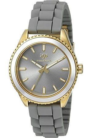 Daniel Wellington WN508-290B - Reloj analógico de Cuarzo para Mujer con Correa de Silicona