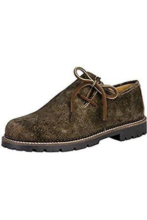 Stockerpoint 1224, Zapatos de Cordones Oxford para Hombre, Braun (Bison (Dunkelbraun)