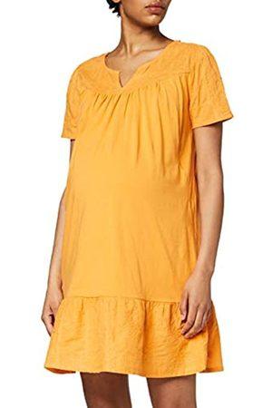 Queen Mum Dress Jersey/Woven Nurs SS Embr Newyork Vestido