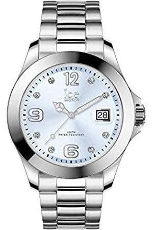 Ice-Watch ICE steel Light blue with stones - Reloj soldi para Mujer con Correa de metal - 016775 (Medium)