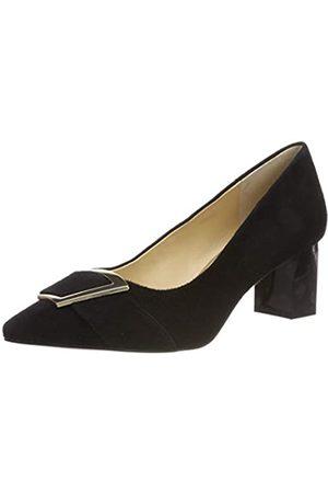 Caprice Gillian, Zapatos de Tacón para Mujer, (Black Suede 4)
