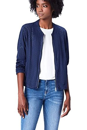 FIND Suedette Bomber Chaqueta Mujer