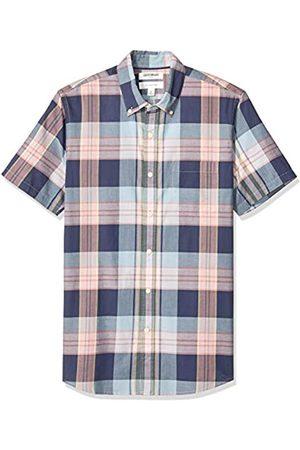 Goodthreads – Camisa de madrás ajustada de manga corta, para hombre