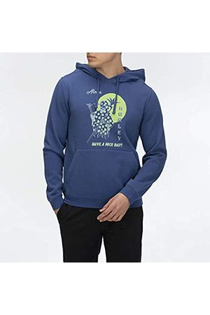 Hurley M Through The Nigth Print Mix Po Sudadera, Hombre