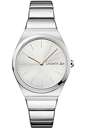 Lacoste Reloj Analógico para Mujer de Cuarzo con Correa en Acero Inoxidable 2001054