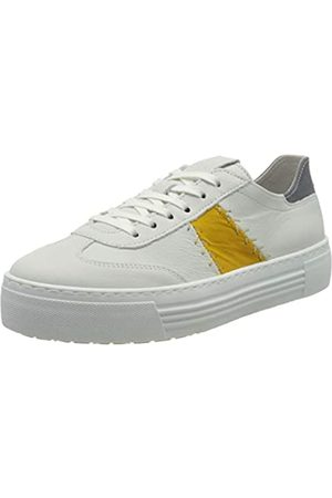 Camel Active Innocence, Zapatillas para Mujer, (White/Yellow/Steel 02)