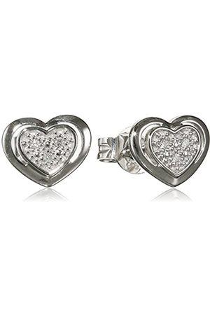 Nina Exclusiv Nina-exclusiv Damen-pendientes 333 Diamantes de corte brillante (0