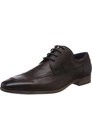 Daniel Hechter 812302061100, Zapatos de Cordones Derby para Hombre, (Mid-Brown 6400)
