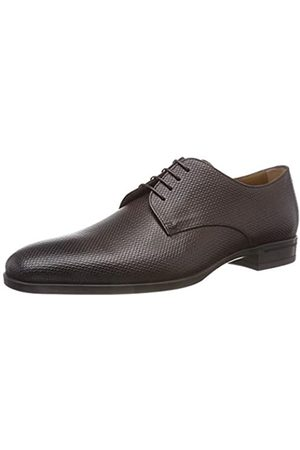 HUGO BOSS Kensington_derb_prhb, Zapatos de Cordones Derby para Hombre, (Dark Brown 209)