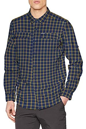 Columbia Silver Ridge 2.0 Camisa de Manga Larga a Cuadros, Hombre
