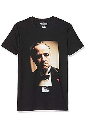 MERCHCODE Godfather Portrait Camiseta, Hombre