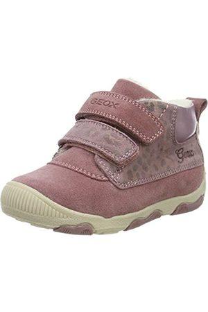 Geox B New Balu' Girl A, Zapatillas para Bebés, (Dk Pink C8006)