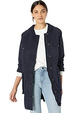 Goodthreads Hooded Utility Jacket Outerwear-Jackets, Índigo