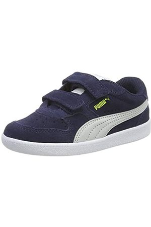 Puma Icra Trainer Sd V Inf Zapatillas Unisex Niños, (Peacoat-Gray Violet-Nrgy Yellow- White 28)