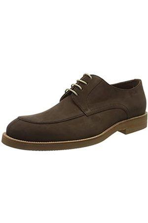 Lottusse T2466, Zapatos de Cordones Derby para Hombre, (Heaven Moka Heaven Moka)