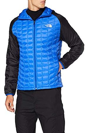 The North Face Thermoball Sport Hoodie Chaqueta con Capucha, Hombre, Blue/TNF Bl