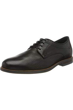 Geox U Bayle B, Zapatos de Cordones Derby para Hombre, (Black C9999)