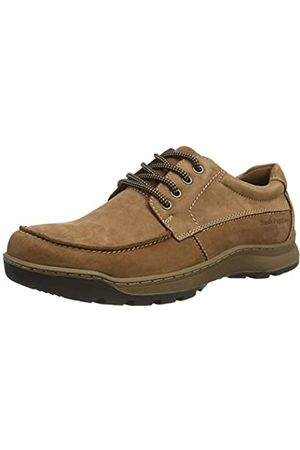Hush Puppies Tucker, Zapatos de Cordones Derby para Hombre, (Tan Nubuck Tan)
