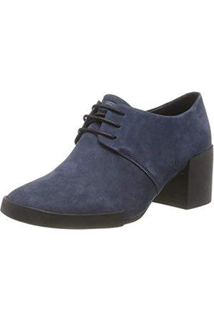Camper Lotta, Zapatos de Cordones Oxford para Mujer, Blau (Navy 410)