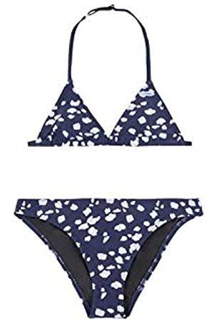 O'Neill Pg Venice Beach-Party Bikini Niña, Niñas, Blue AOP w/Blue