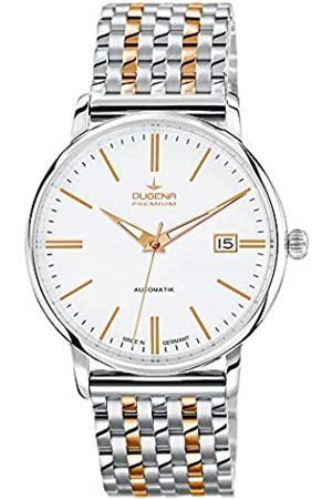 DUGENA Premium - Reloj de automático para Hombre, con Correa de Acero Inoxidable