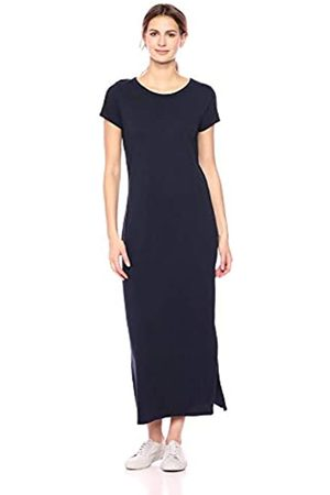 Daily Ritual Lived-In Cotton Short-Sleeve Crewneck Maxi Dress