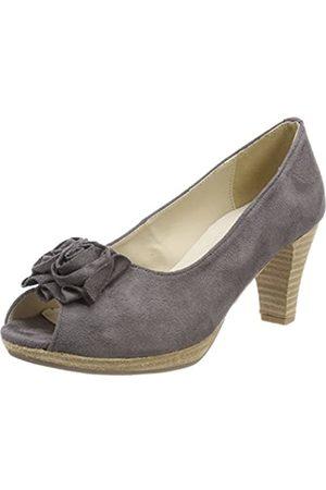 Andrea Conti 0733109, Zapatos de tacón con Punta Abierta para Mujer, (Schiefer 261)