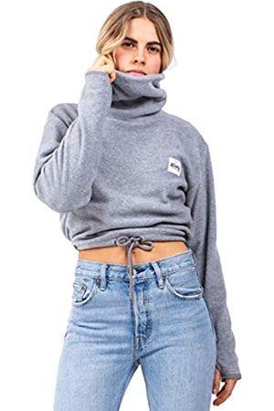Eivy Peg Fleece Cropped Jersey con Cuello Alto para Mujer, Mujer, 6201-190070-6008